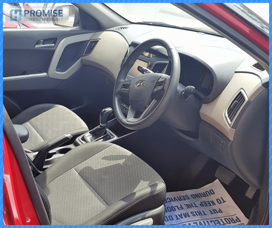 H Promise Used Car Hyundai Creta- Interiors