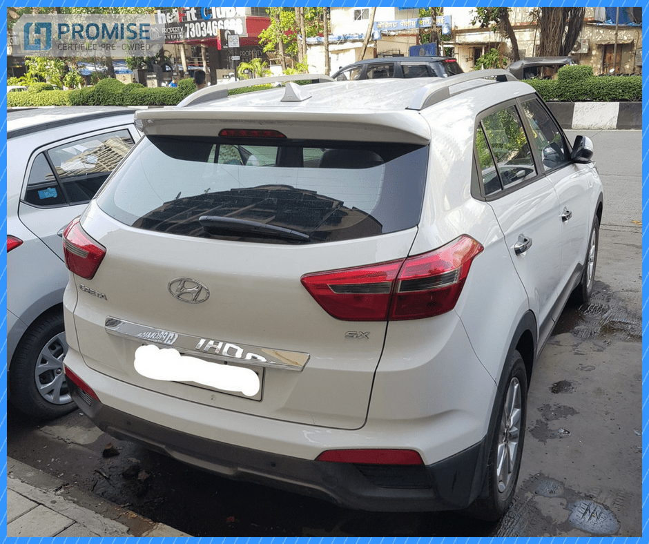 H Promise Used Car Hyundai Creta - Side