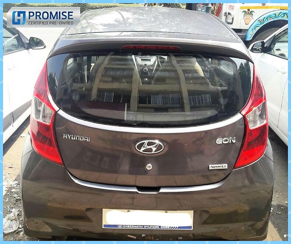 Hyundai Eon Car Exterior Feature - Front View