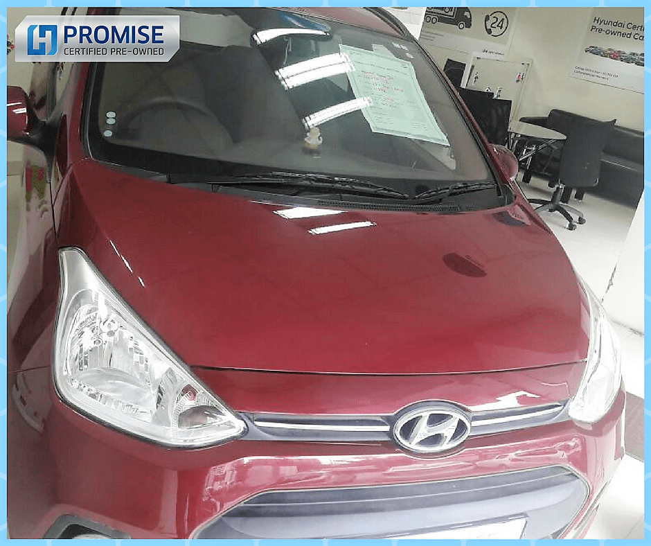 H Promise Used Car Hyundai Grand i10 - Front