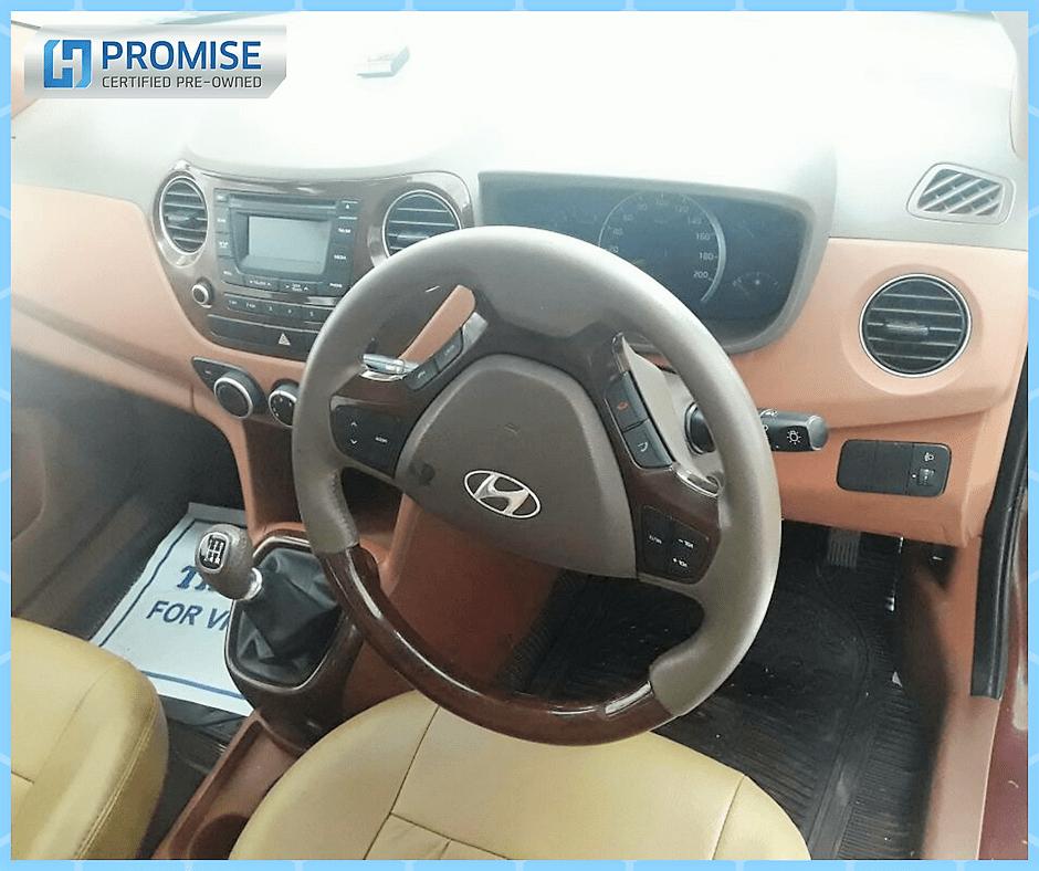 Hyundai Grand i10 Car Exterior Feature Side View