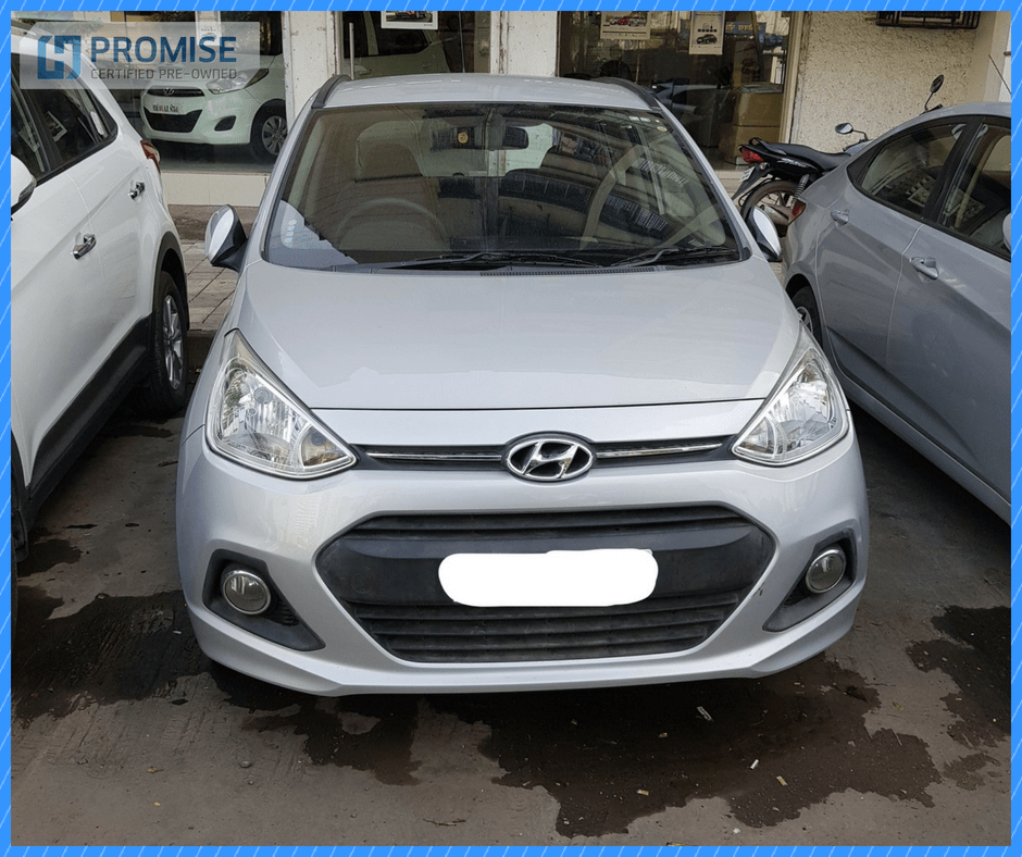 H Promise Used Car Hyundai Grandi10- Front