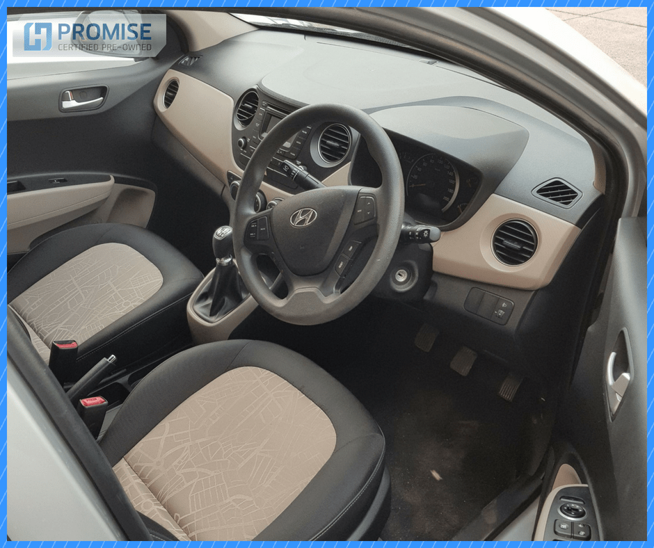 H Promise Used Car Hyundai Grand i10- Interiors