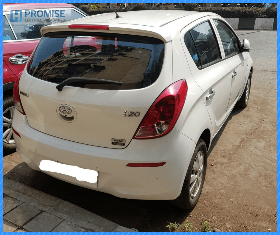 H Promise Used Car Hyundai Elite i20 - Side