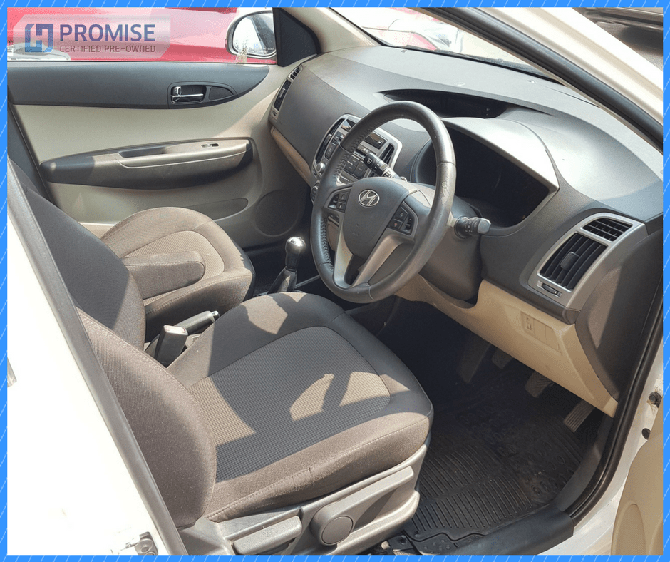 H Promise Used Car Hyundai Elite i20- Interiors