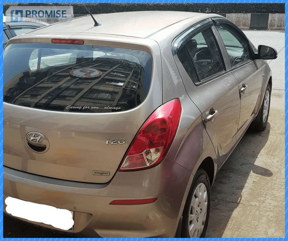 H Promise Used Car Hyundai i20 - Side