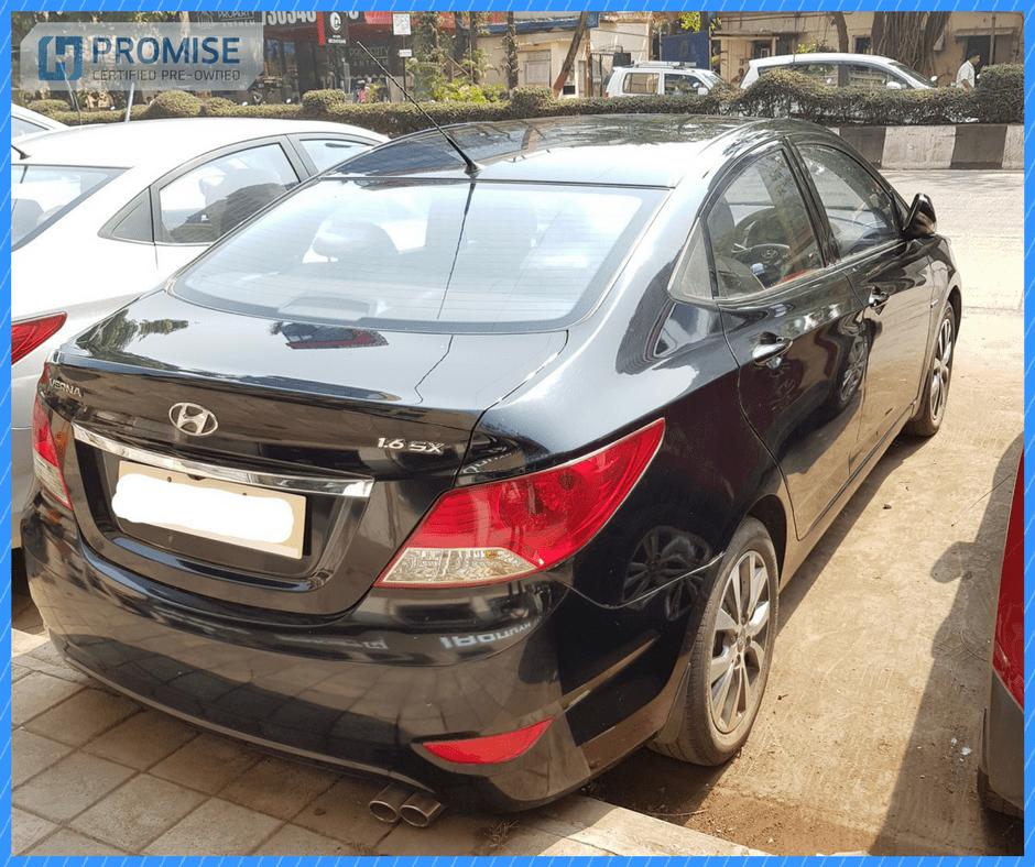 Hyundai Verna Car Exterior Feature Side View