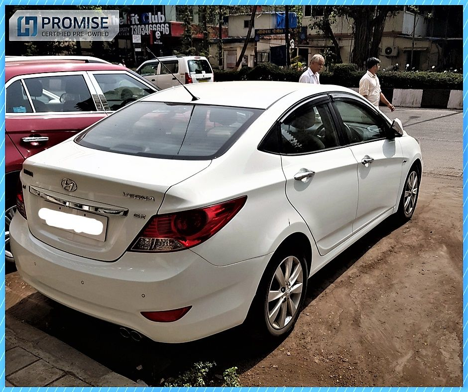 H Promise Used Car Hyundai Verna - Side