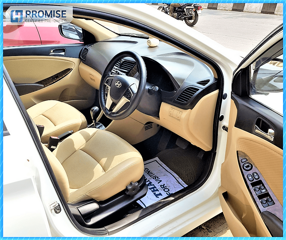 H Promise Used Car Hyundai Verna- Interiors