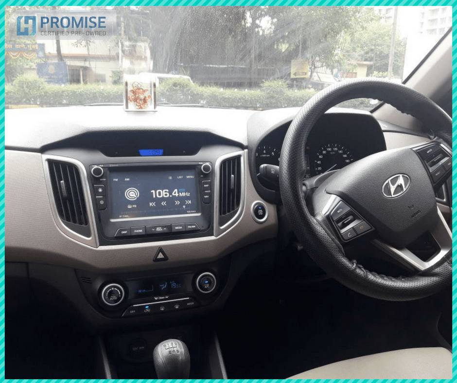 Hyundai Eon Car Interior Feature - Dashbord