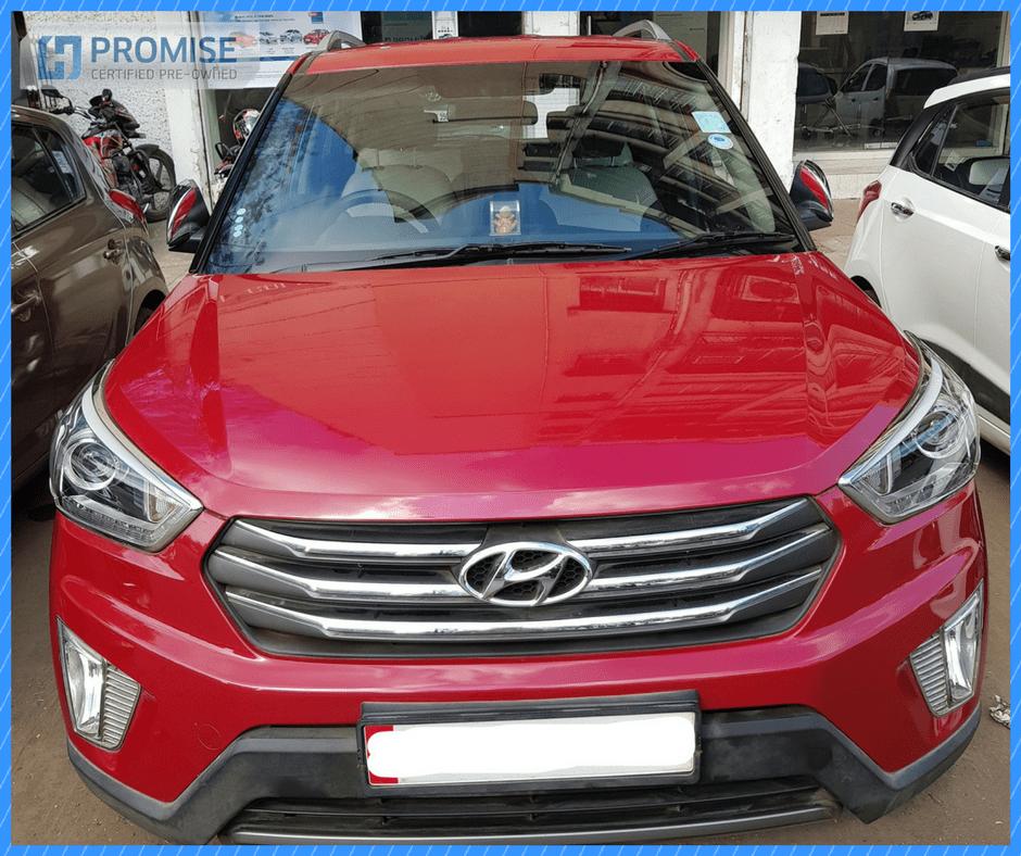 H Promise Used Car Hyundai Creta - Front