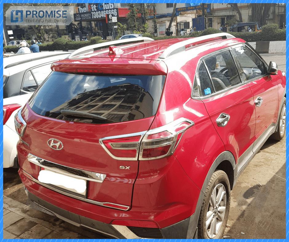 H Promise Used Car Hyundai Creta - Side