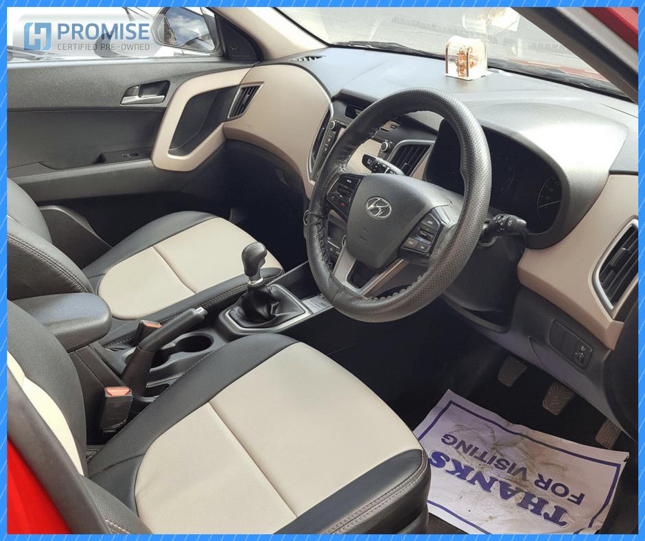 H Promise Used Car Hyundai Creta - Interiors