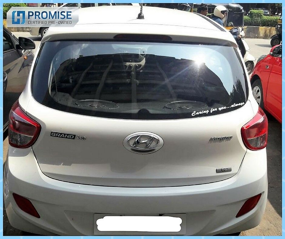 Hyundai Grand i10 Car Exterior Feature Side View