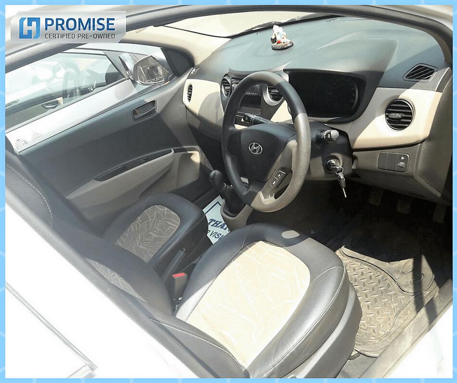 H Promise Used Car Hyundai Grand i10 - Interiors