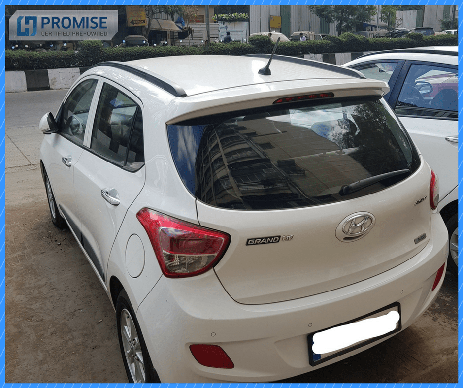 Hyundai Grand i10 Car Exterior Feature - Front View