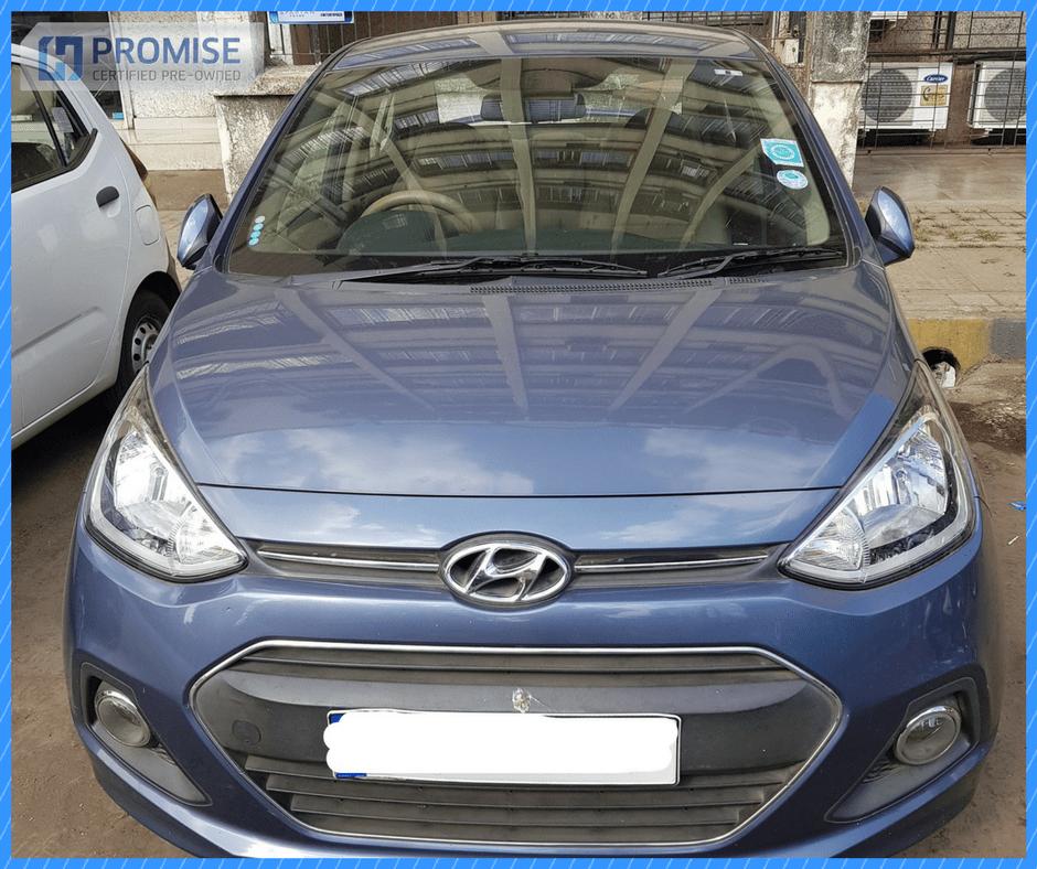 H Promise Used Car Hyundai i20 - Front