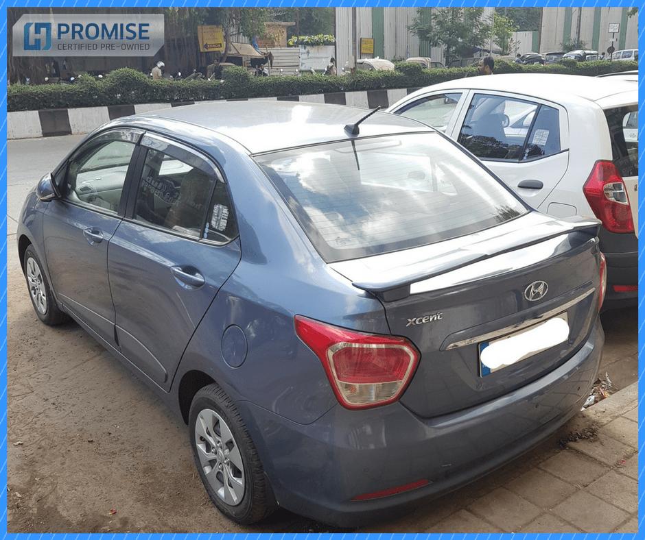 H Promise Used Car Hyundai i20 - Side