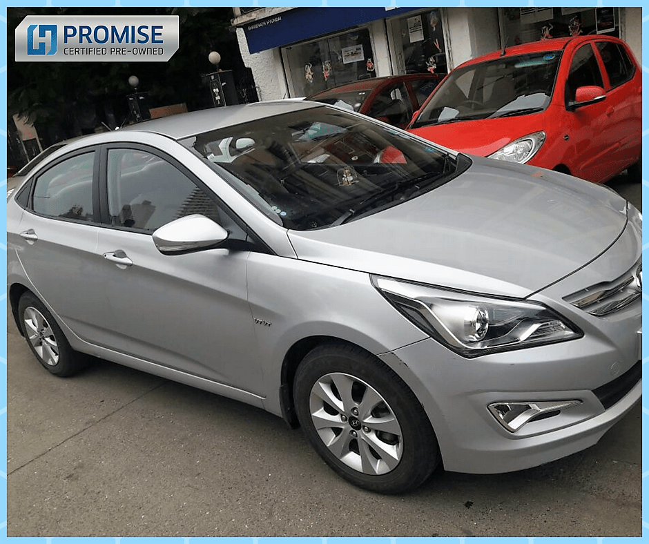 Hyundai Verna Car Exterior Feature - Front View