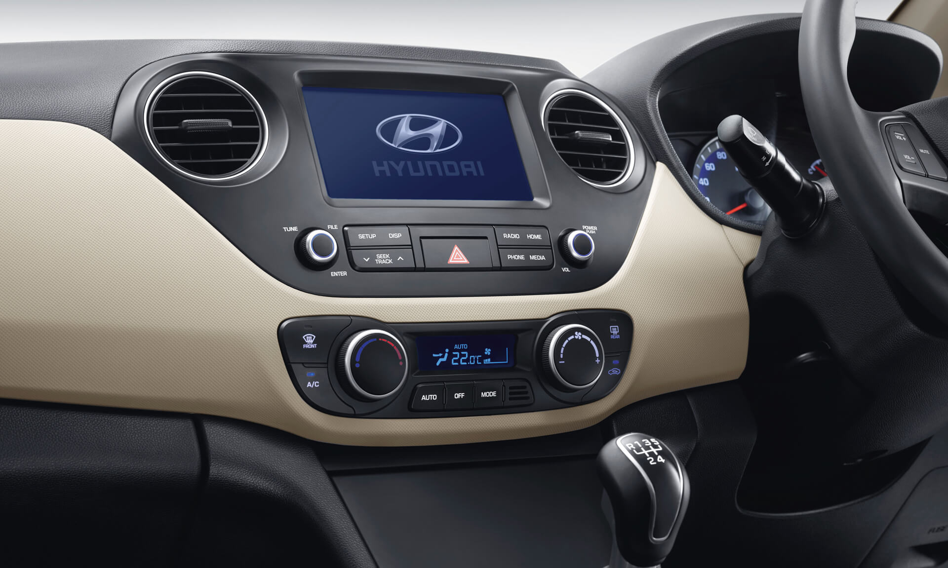 Hyundai Xcent Car Exterior Feature - Rear Right Side