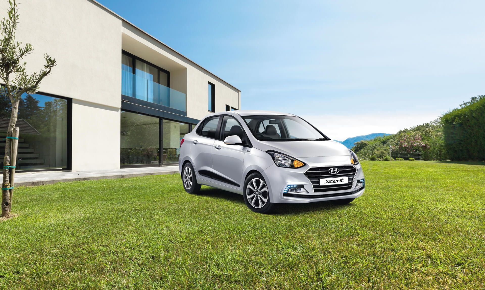 Hyundai Xcent Car Exterior Feature - bright and airy cabin