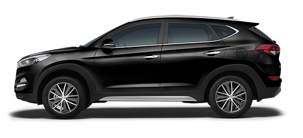 Hyundai Tucson Car Colors - Phantom Black Car Thane, Mumbai