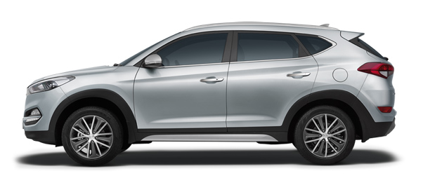 Hyundai Tucson Car Colors - Sleek Silver Car Thane, Mumbai