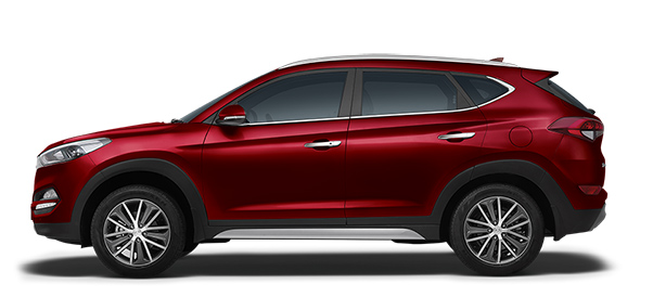 Hyundai Tucson Car Colors - Wine Red Car Thane, Mumbai