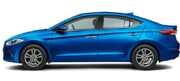 Hyundai Elantra Colors - Marina Blue Car Thane, Mumbai