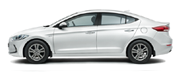 Hyundai Elantra Colors - Polar White Car Thane, Mumbai