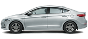 Hyundai Elantra Colors - Sleek Silver Car Thane, Mumbai