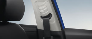 Hyundai All New Elantra Height adjustable seat belts
