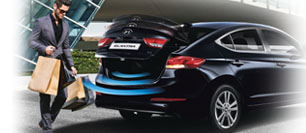 Hyundai All New Elantra Smart trunk system