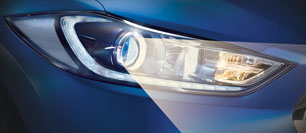 Hyundai All New Elantra Safety Escort Lamps Features