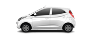 Hyundai EON Car Colors - Polar White Car Thane, Mumbai