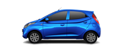 Hyundai EON Car Colors - Pristlne Blue Car Thane, Mumbai