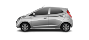 Hyundai EON Car Colors - Sleek Silver Car Thane, Mumbai