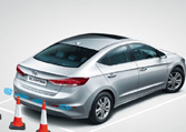 Hyundai Elantra Car Exterior Feature - Front Right View
