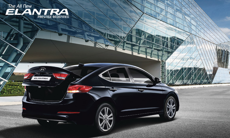 Hyundai Elantra Car Exterior Feature - Rear Right View