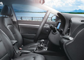 Hyundai Elantra Car Inteior Feature - Infotainment System
