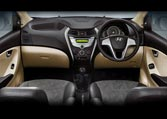 Hyundai Eon Car Interior Features - ergonomically designed seats