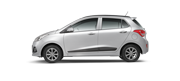 Hyundai i10 Sleek Silver Car Thane, Mumbai