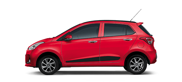 Hyundai Grandi10 - Red Passion Car Thane, Mumbai