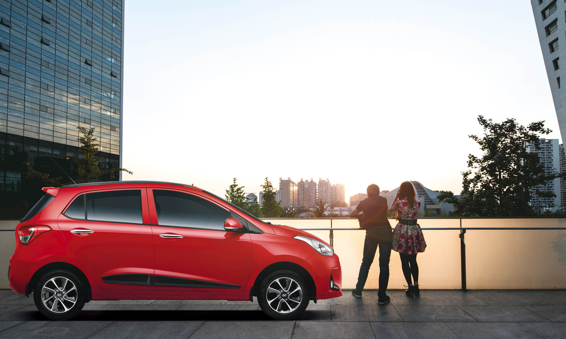 Hyundai Grand i10 Car Exterior Feature - Rear View