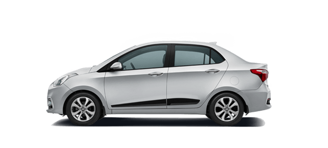 Hyundai Xcent Sleek Silver Car Thane, Mumbai
