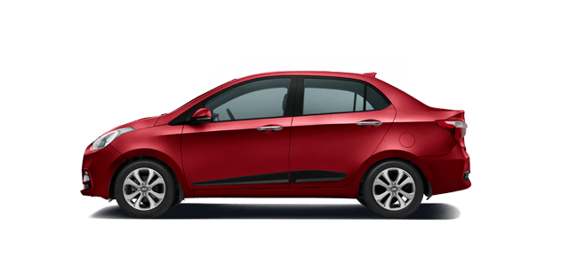 Hyundai Xcent Wine Red Car Thane, Mumbai