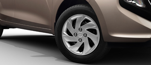 Hyundai All New Santro R14 Steel Wheel with Cover