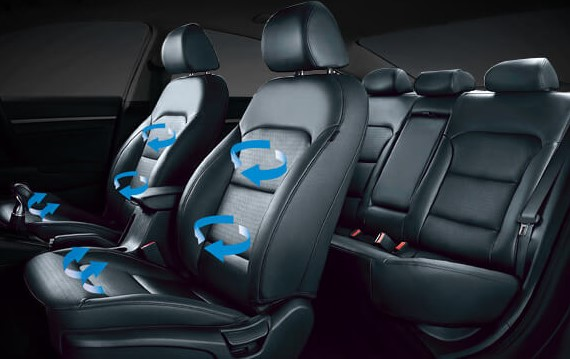 Hyundai All New Elantra Seat Ventilation