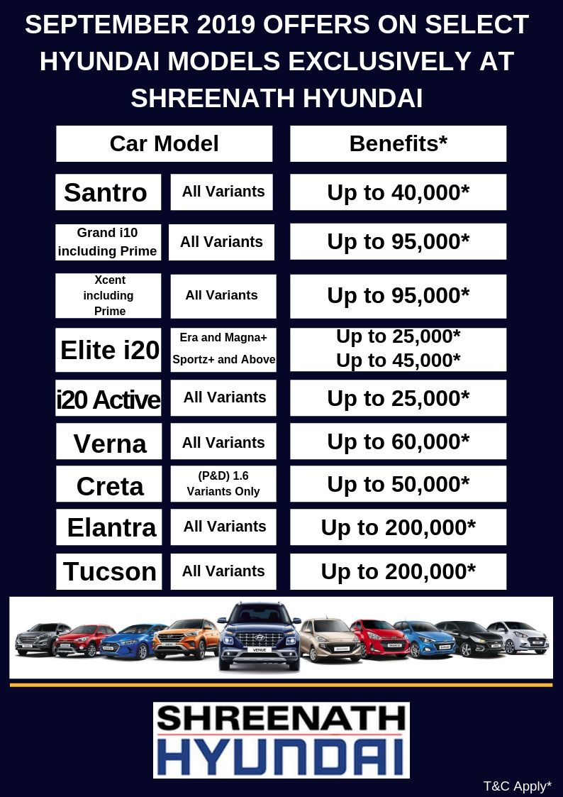Hyundai September Offer