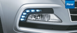 Hyundai Xcent Fog Lamps with LED DRL's